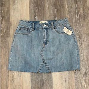 PacSun Jean Skirt, never worn!